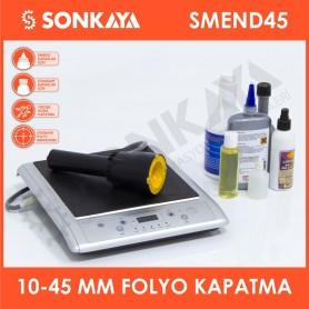 SMEND45 10-45mm Manuel Indüksiyon Folyo Kapatma Yapıştırma Makinası