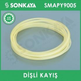 SMAPY9005 Konveyörlü Poşet Ağzı Kapatma Makinası Dişli Kayışı 630 mm