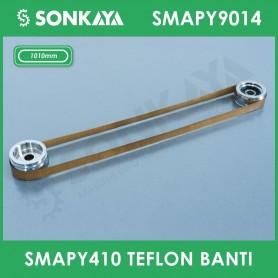 SMAPY9014 Konveyörlü Poşet Ağzı Kapatma Makinası Teflon Bantı 1010 mm