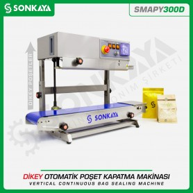 Sonkaya SMAPY300D Stainless Vertical Continuous Bag Sealing Machine