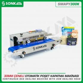 Sonkaya SMAPY300K Geniş Yapıştırma Çeneli Poşet Kapatma Makinası