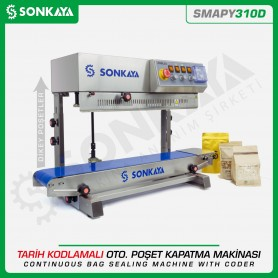 Sonkaya SMAPY310D Vertical Continuous Bag Sealing Machine With Coder