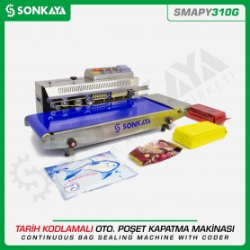 Sonkaya SMAPY310G Continuous Wide Bag Sealing Machine With Coder