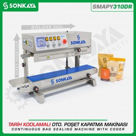 Sonkaya SMAPY310DR Vertical Continuous Bag Sealing Machine With Coder