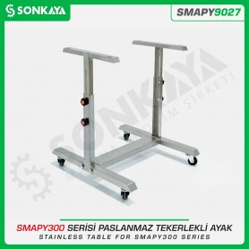 Sonkaya SMAPY9027 Stainless Table for SMAPY300 Series with Wheel