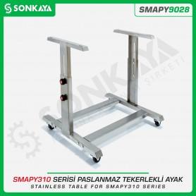 Sonkaya SMAPY9028 SMAPY310 Serisi Poşet Kapatma Makinası Tekerli Ayağı