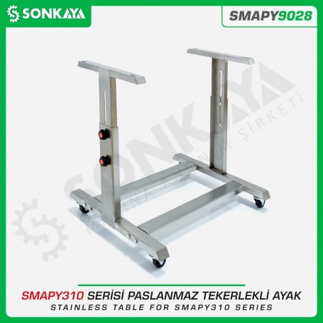 Sonkaya SMAPY9028 Stainless Table for SMAPY310 Series with Wheel