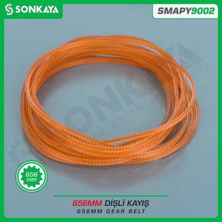 Sonkaya SMAPY9002 Poşet Ağzı Kapatma Makinası Dişli Kayışı 656 mm