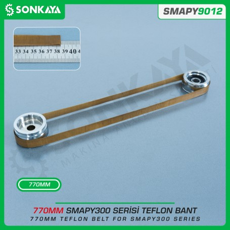 Sonkaya SMAPY9012 Bag Sealing Machine Teflon Belt 770 mm