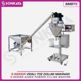 Sonkaya SMDT5 Vidalı Toz Dolum Makinası 5g-5000g