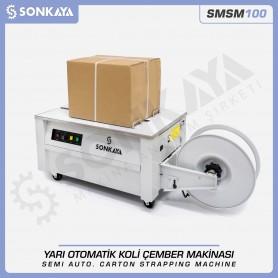 Sonkaya SMSM100 Semi Automatic Carton Strapping Machine