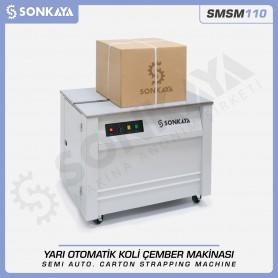 Sonkaya SMSM110 Yarı Otomatik Koli Çember Makinası