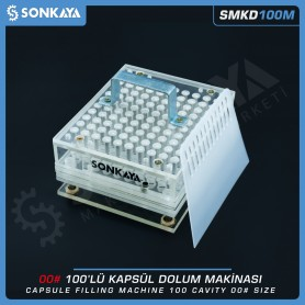 Sonkaya SMKD100M Manuel Kapsül Dolum Makinası 100 Boyut 00