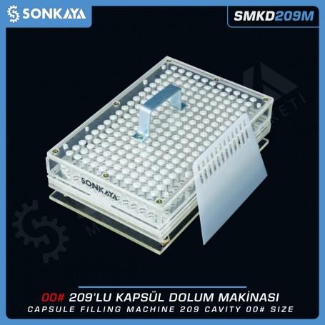 Sonkaya SMKD209M Manual Capsule Filler 209 Cavity 00 Size