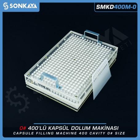 Sonkaya SMKD400M-0 Manuel Kapsül Dolum Makinası 400 Boyut 0