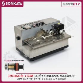 Sonkaya SMTK217 Otomatik Tarih Kodlama Makinası 11 Satır 17cm