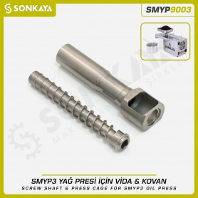Sonkaya SMYP9003 Screw Shaft & Press Cage for Oil Press