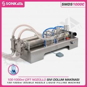 Sonkaya SMDS1000C 1000ml Çift Nozullu Sıvı Dolum Makinası