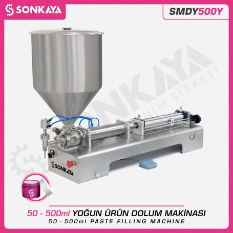 Sonkaya SMDY500Y Yoğun Ürün Dolum Makinası 500ml