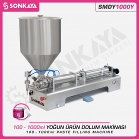 Sonkaya SMDY1000Y Semi Automatic Paste Filling Machine 1LT