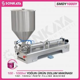 Sonkaya SMDY1000Y Yarı Otomatik Yoğun Ürün Dolum Makinası 1LT
