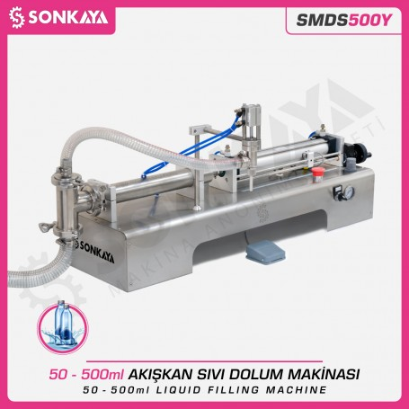 Sonkaya SMDS500Y Semi Automatic Liquid Filling Machine 500ml