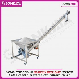 Sonkaya SMDT5B Auger Feeder Elevator for Powder Filler