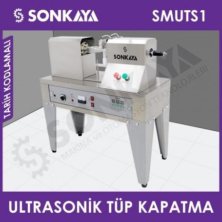 SMUTS1 Ultrasonik Tüp Kapatma Makinası Tarih Kodlamalı