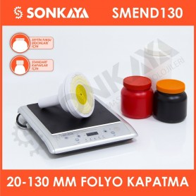 SMEND130 20-130mm Manual Induction Folio Bottle Sealing Machine