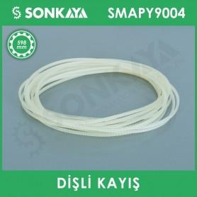 SMAPY9004 Konveyörlü Poşet Ağzı Kapatma Makinası Dişli Kayışı 598 mm