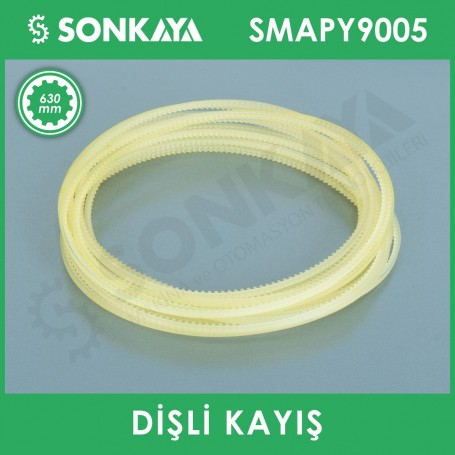 SMAPY9005 Continuous Bag Sealing Machine Gear Belt 630 mm
