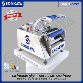 Sonkaya SMET225Y Semiauto Bottle Labeling Machine