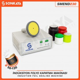 SMEND230 50-130mm Manual Induction Folio Bottle Sealing Machine