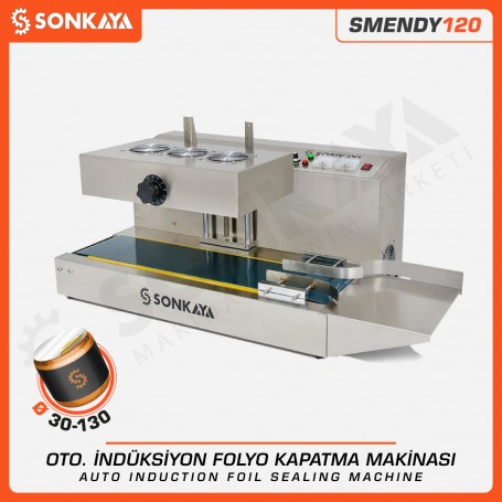 SMENDY120 30-130mm Continuous Induction Foil Sealing Machine