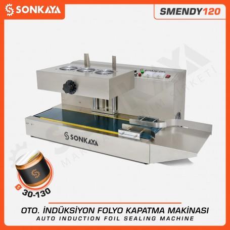 Sonkaya SMENDY120 Yarı Otomatik İndüksiyon Folyo Kapatma Makinası