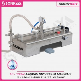 Sonkaya SMDS100Y Semi Automatic Liquid Filling Machine 100ml