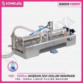 Sonkaya SMDS1000Y Semi Automatic Liquid Filling Machine 1000ml