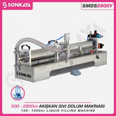 Sonkaya SMDS2800Y 500-2800ml Semiauto Liquid Filling Machine