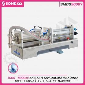 Sonkaya SMDS5000Y Yarı Otomatik Akışkan Sıvı Dolum Makinası 5000ml