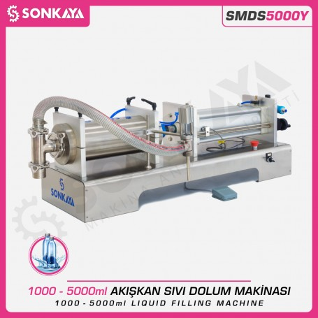Sonkaya SMDS5000Y Semi Automatic Liquid Filling Machine 5000ml