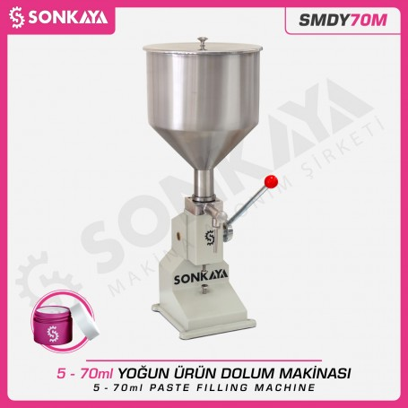 Sonkaya SMDY70M 5-70ml Manual Liquid Filler