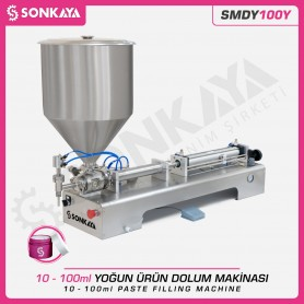 Sonkaya SMDY100Y Semi Automatic Paste Filler 100ml