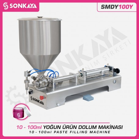 Sonkaya SMDY100Y Semi Automatic Paste Filler 100ml