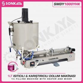 Sonkaya SMDY1000YHK Isıtıcılı Karıştırıcılı Dolum Makinası 1LT