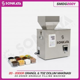 Sonkaya SMDG200Y Tartılı Granül & Toz Dolum Makinası 200gr