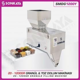 SMDG1200Y 20-1200gr Semiauto. Granule & Powder Filler
