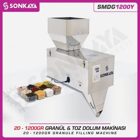 Sonkaya SMDG1200Y Tartılı Granül & Toz Dolum Makinası 1200gr
