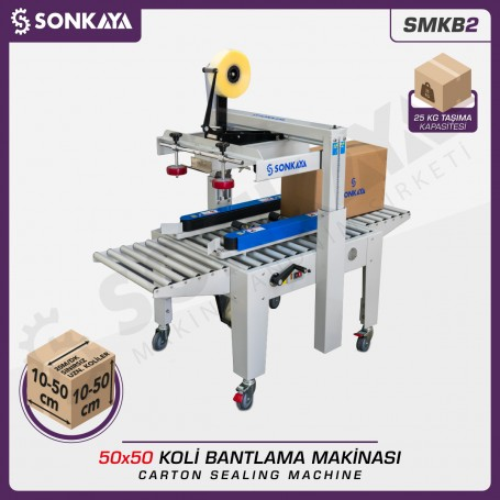 Sonkaya SMKB2 Carton Sealing Machine 50x50cm