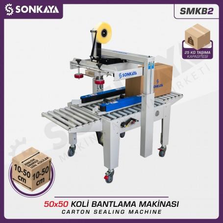 Sonkaya SMKB2 Koli Bantlama Makinası 50x50cm