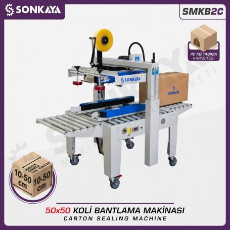 Sonkaya SMKB2C Koli Bantlama Makinası 50x50cm
